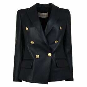 Alexandre Vauthier Leather Blazer