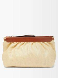 Athena Procopiou - Kalua Bias-cut Maxi Dress - Womens - Blue White