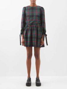 Balenciaga - Logo Jacquard Wool Blend Sweater - Womens - White Black