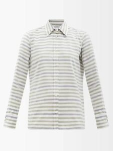 Gucci - Gg Jacquard Wool Cardigan - Womens - Black Multi