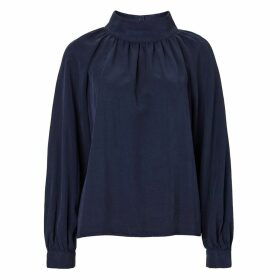 Baukjen - Elena Top In Navy