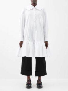 A.w.a.k.e. Mode - High-rise Crepe Trousers - Womens - Green