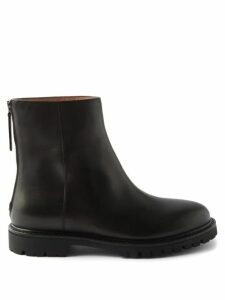 Allude - Ribbed Cashmere V Neck Sweater - Womens - Light Pink