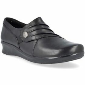 Clarks  Hope Roxanne Women's Shoes  women's Loafers / Casual Shoes in Black