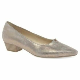 Gabor  Acton Womens Court Shoes  women's Shoes (Pumps / Ballerinas) in Gold