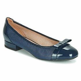 Geox  D WISTREY  women's Shoes (Pumps / Ballerinas) in Blue