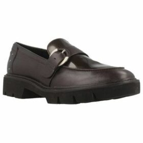 Geox  D QUINLYNN  women's Loafers / Casual Shoes in Brown