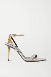 BLOUSE - Perfection Appliquéd Cotton-terry Sweatshirt - Black