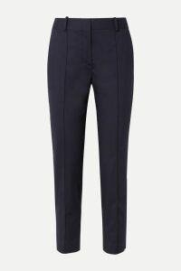 Prada - Printed Jersey Turtleneck Top - Blue