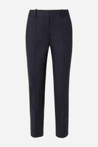 Prada - Printed Jersey Turtleneck Top - Blue