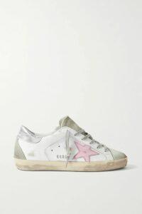 Monse - Asymmetric Paneled Striped Jersey Top - Navy