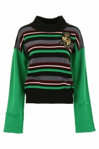 J.W. Anderson Striped Pull With Logo