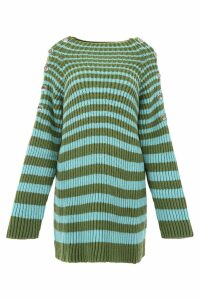 Alberta Ferretti Striped Pull