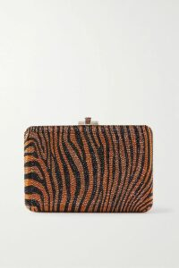 Givenchy - Embroidered Ribbed-knit Turtleneck Top - Black