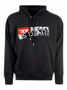 Diesel Is Dead Print Sweatshirt