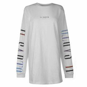 IL SARTO Mia Long Sleeve Dress - White Multi
