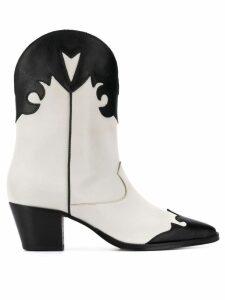 Paris Texas Texas cowboy boots - White