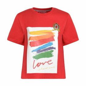 Hilfiger Collection Corita Cotton Jersey T Shirt