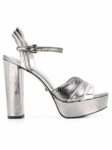 Michael Michael Kors Harper platform sandals - Silver