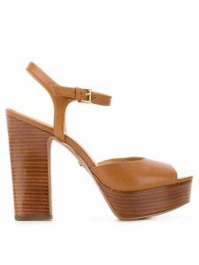 Michael Michael Kors platform sandals - Brown