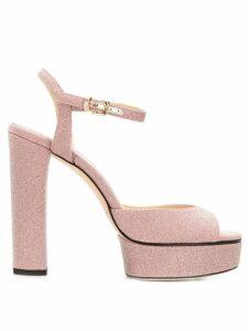 Jimmy Choo Peachy 125 sandals - PINK