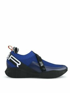 Swear Crosby knit sneakers - Blue/Black/White/Orange