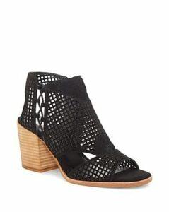 Vince Camuto Women's Kampbell Mesh Block Heel Sandals