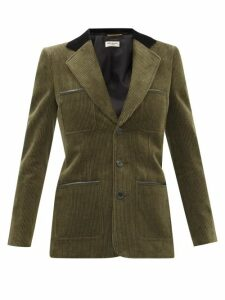 Lisa Marie Fernandez - Pouf Linen Crop Top - Womens - Khaki