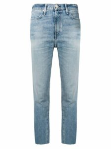 Rag & Bone cropped slim-fit jeans - Blue