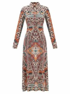 Lemaire - Asymmetric Batwing Sleeve Cotton Blouse - Womens - Black