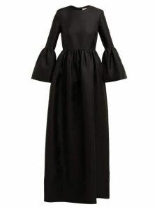 The Row - Lora Silk-twill Gown - Womens - Black