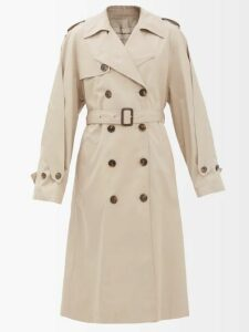 Balenciaga - Logo Print Ribbed Cardigan - Womens - Black White