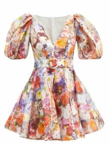 Balenciaga - Logo Print Ribbed Sweater - Womens - Black Blue