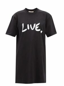 Balenciaga - Logo Embroidered Wool Sweater - Womens - Navy