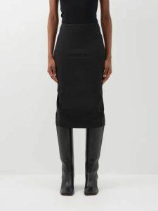 Peter Pilotto - Striped Lamé-jacquard Dress - Womens - Navy Multi