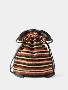 Hanes X Karla - The Crop Cotton Jersey T Shirt - Womens - Grey