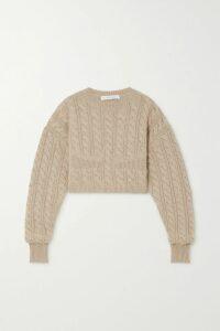 Balenciaga - Piaf Perforated Scuba Top - Black