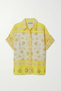 Solace London - Sattal Ribbed Stretch-knit Turtleneck Top - Cobalt blue
