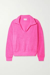 The Elder Statesman - Striped Cashmere Sweater - Gray
