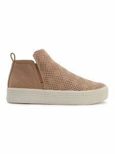 Tate Perforated Platform Sneakers