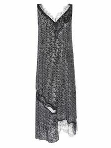 Joseph lace V-neck dress - Black