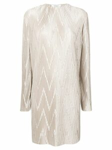Givenchy micro pleated dress - Grey