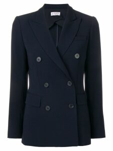 Alberto Biani double-breasted blazer - Blue