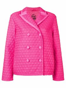 Ermanno Scervino cropped quilt jackey - PINK