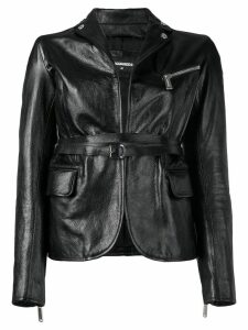 Dsquared2 fitted biker jacket - Black