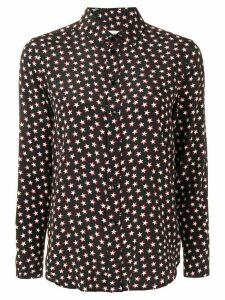 Saint Laurent star printed shirt - Black