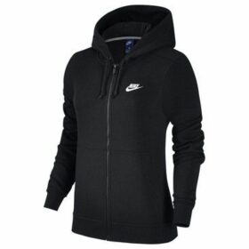 Nike  W Nsw Hoodie FZ Flc  women's Sweatshirt in Black