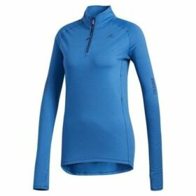 adidas  Supernova Sweatshirt 12 Zip W  women's Sweatshirt in Blue