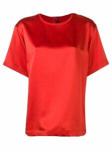 Joseph sheen shortsleeved blouse - Red