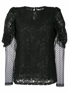 See By Chloé longsleeved lace blouse - Black